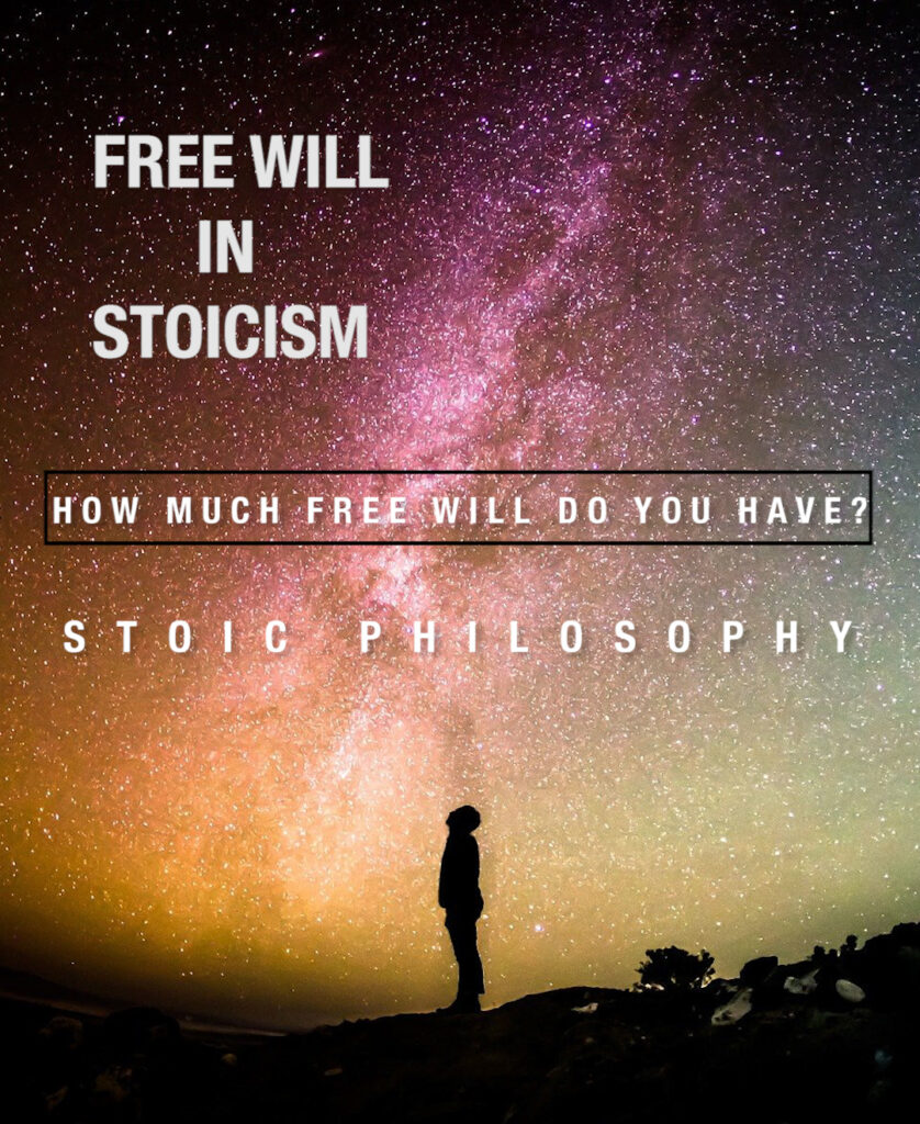 Free will in stoicism - stoic philosophy